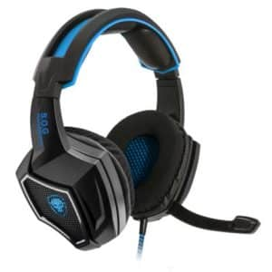 SOG Xpert H500 Gaming Headset Blue
