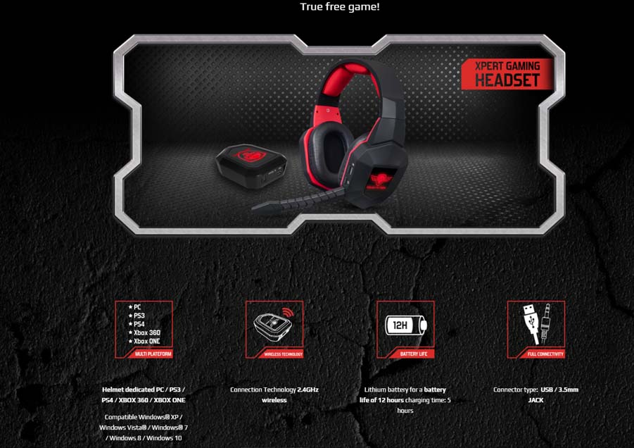 SOG Xpert H9 Gaming Headset