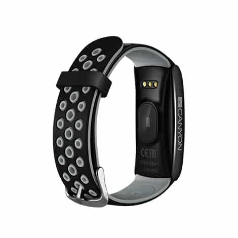 Canyon Colourful Fitness Band For Sports Fans Black