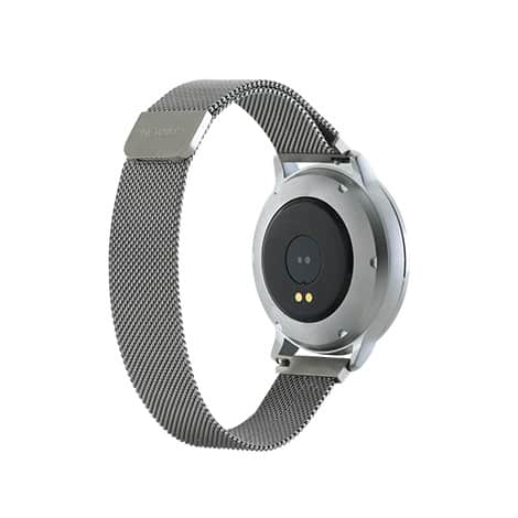 Canyon Stylish Smartwatch With Magnet Buckle Silver