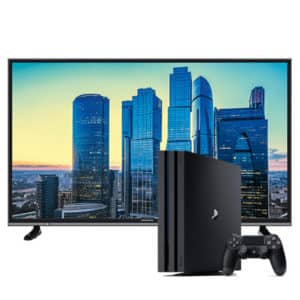 "Grundig 4K Smart TV 43"" & Playstation 4 pro 1Tb 4k + Controller"