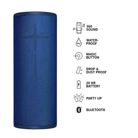 Ultimate Ears MEGABOOM 3 Lagoon Blue Bluetooth Speaker
