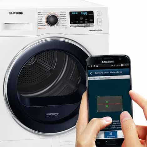 Samsung DV90M5000QW Heat Pump Tumble Dryer A++ 9kg