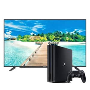 "Grundig 4K Smart TV 49"" GUB 8964 & Playstation 4 pro 1Tb 4k + Controller"