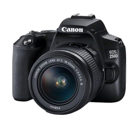 Canon EOS 250D + EF-S 18-55 IS STM + Free EF-S 24MM F-2.8 LENS