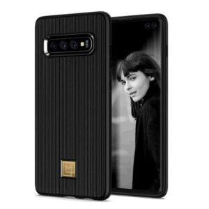 SPIGEN Galaxy S10+ Case La Manon Classy Black
