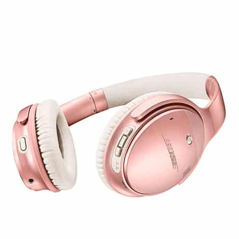 Bose QuietComfort 35 Series II Wireless Headphones Rose Gold