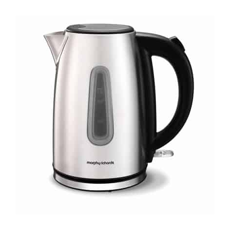Morphy Richards Equip Brushed Jug Kettle