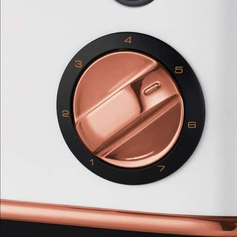 Morphy Richards Evoke Rose Gold and Brushed Special Edition 4 Slice Toaster