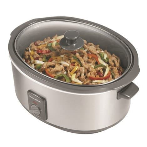 Morphy Richards Oval Stainless Steel Slow Cooker 6.5L