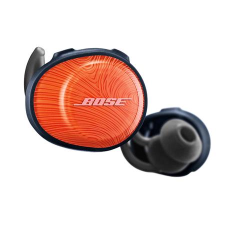 Bose Soundsport Free Wireless In-Ear Headphones Orange Navy