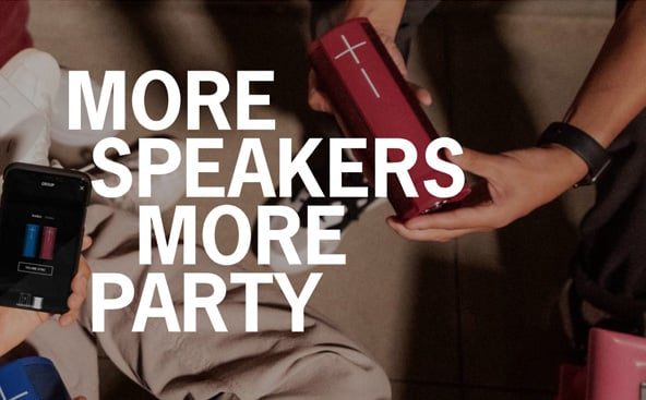 More speakers more party