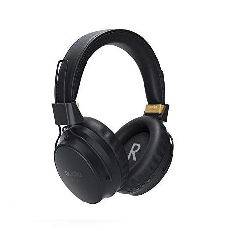 Sudio Klar II Black Wireless Bluetooth Headphones – Active Noise Canceling