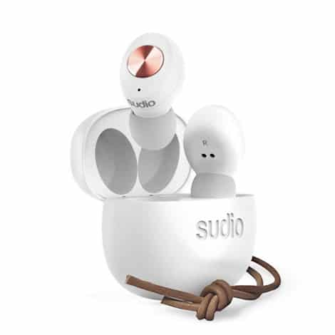 Sudio Tolv White Wireless Bluetooth Earphones