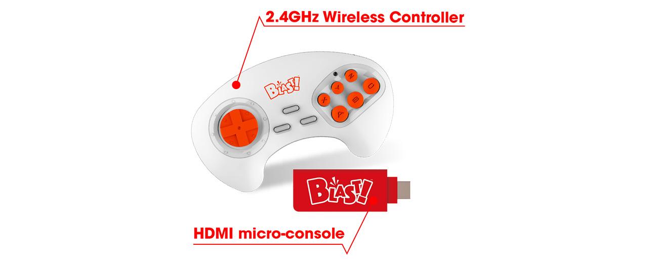 Blast wireless controller