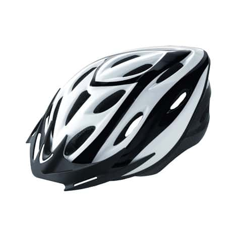 Helmet Outmould White & Black