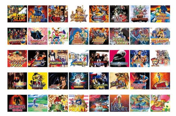 Neo Geo Mini HD Gaming Console | 40 Games