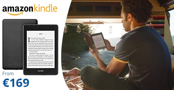 "Kindle Amazon Paperwhite E-reader 6"" 8GB Black"