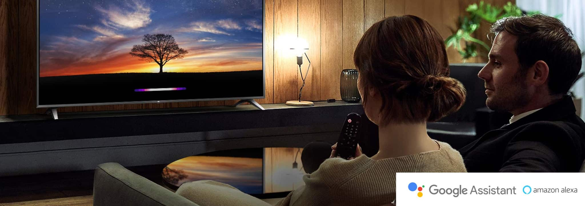 Live in Wonder with LG AI TV