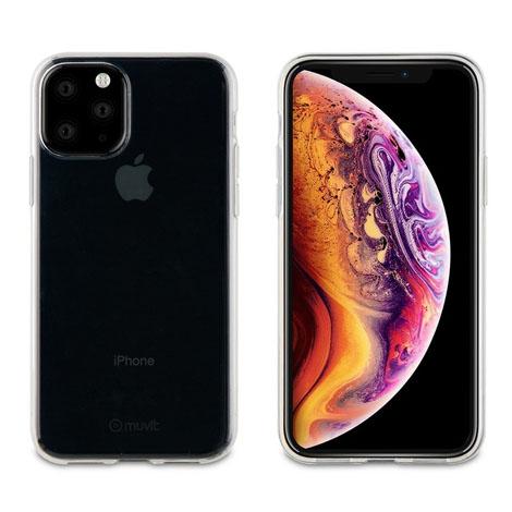 Muvit iPhone 11 PRO Max Transparent Soft Case