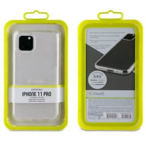 Muvit iPhone 11 PRO Transparent Soft Case