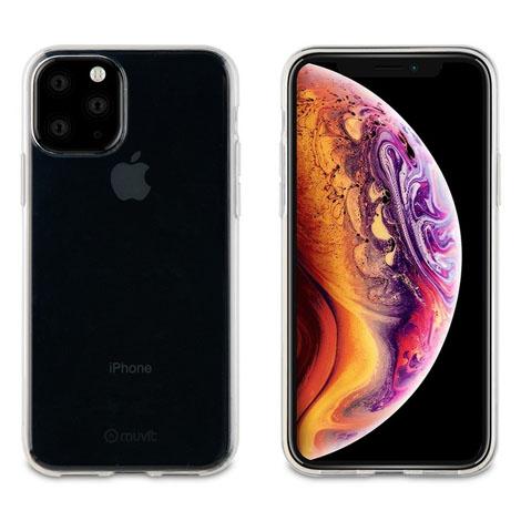 Muvit iPhone 11 PRO Transparent Soft Case