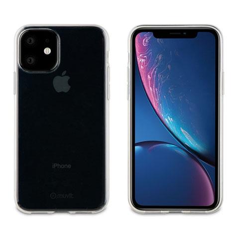 Muvit iPhone 11 Transparent Soft Case