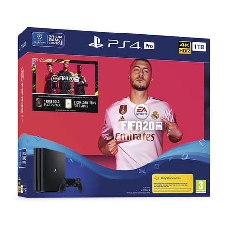 Playstation 4 Pro 1TB FIFA 20 Bundle