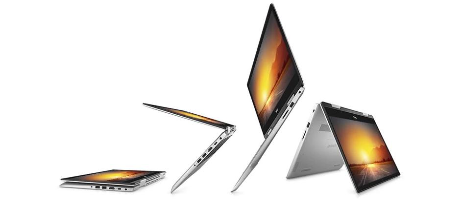 """Dell Inspiron 2-in-1 14"""" 5000 (14th Gen Core i5) Silver Windows 10 Home"""