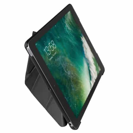 Gecko Apple iPad 9.7″ (2017 / 2018) Origami Cover Black
