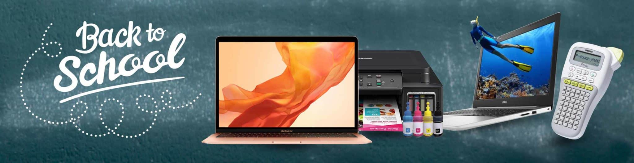 Save on Dell Laptops and Apple MacBook's with Intercomp Malta's Back To School offers