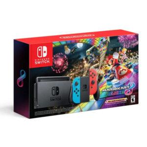 Nintendo Switch + Mario Kart Deluxe (Downloadable Content)