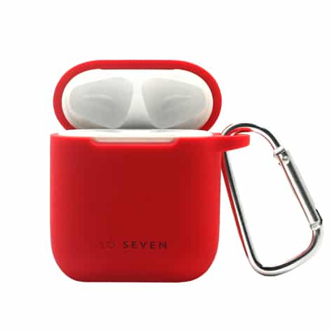So Seven Airpods 1 & 2 Case + Red Straps
