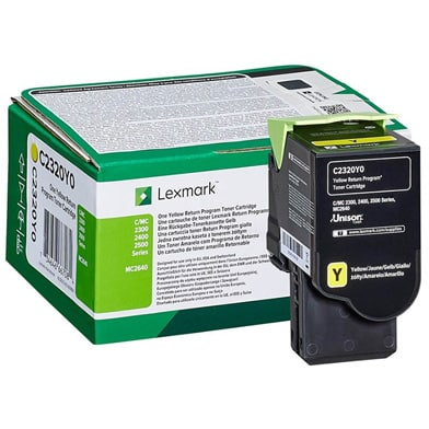 Standard Yellow Toner (C/MC 2325/2425/2535/2640) C2320Y0