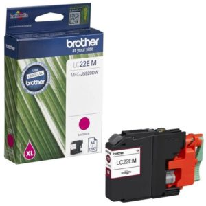Brother Magenta Ink Cartridge LC22EM