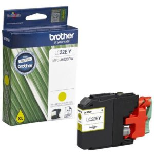 Brother Yellow Ink Cartridge LC22EY