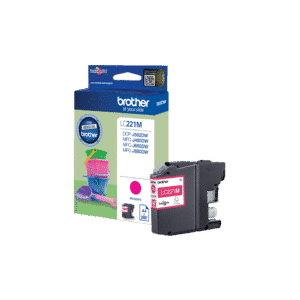 Magenta Ink Cartridge LC221M