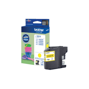 Yellow Ink Cartridge LC221Y