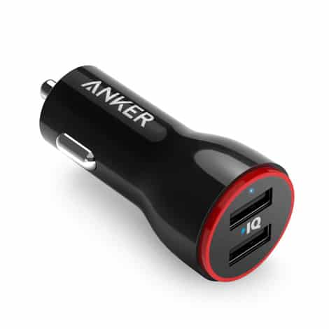 Anker PowerDrive 2 Car Charger 2 Ports 24W