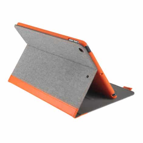 Gecko Apple Ipad 10.2 (2019) Easy Click cover Orange/Grey
