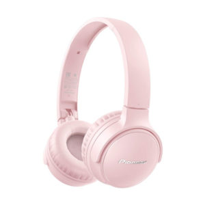 Pioneer S3 Wireless Bluetooth Headphones Pink