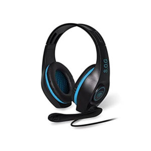 SOG Elite H5 Gaming Headset Blue