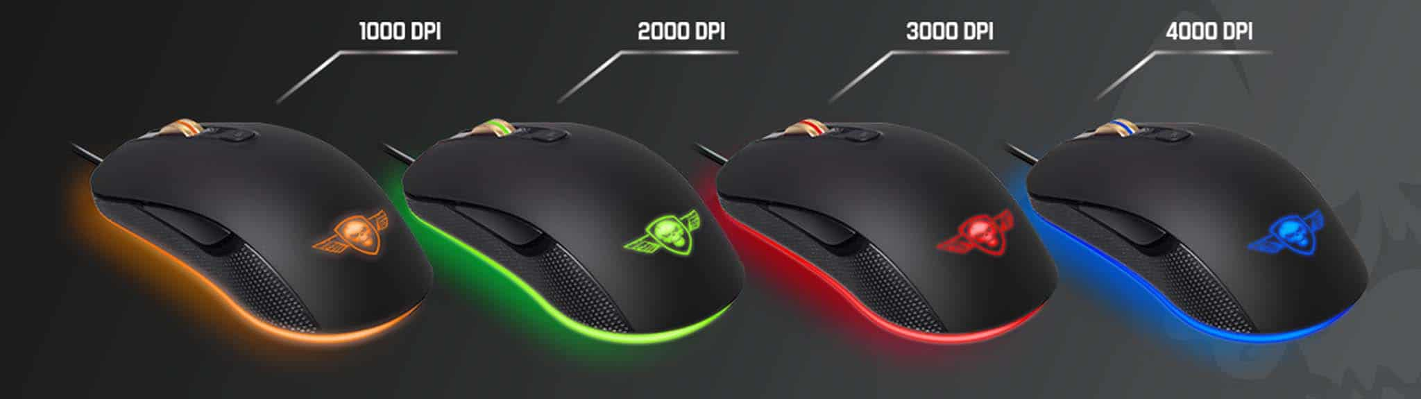 SOG PRO-M6 Gaming Mouse