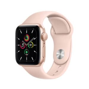 Apple Watch SE GPS 40mm Gold Aluminium Case with Sport Pink Sand Band
