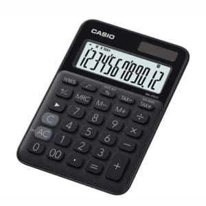 Casio Calculator Black MS-20UC-BK