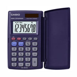Casio Calculator Blue HS-8VER