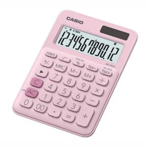 Casio Calculator Pink MS-20UC-PK