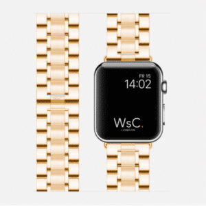 WsC Fury Apple Watch Strap | Gold | 40mm