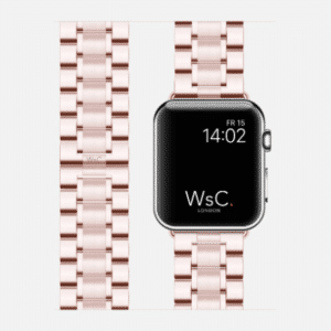 WsC Fury Apple Watch Strap | Rose Gold | 40mm