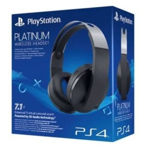 Sony PlayStation 4 (PS4) Wireless Headset Black Platinum